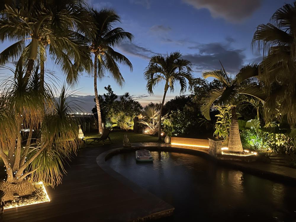 Concepteur-Lumière-LED-Jardin-particulier-La-réunion